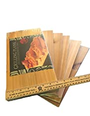 "Gourmet Pacific Cedar Grill Planks - (6 Pack 14"" x 7"" x 3/8"")"