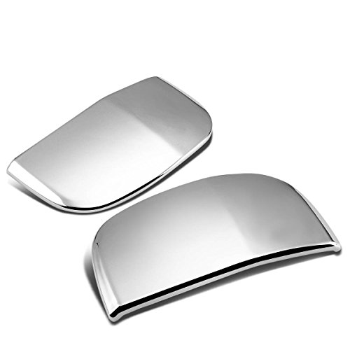 Toyota Vertical Doors - For Tundra Double Cab 2pcs Rear Vertical Exterior Door Handle Cover (Chrome)