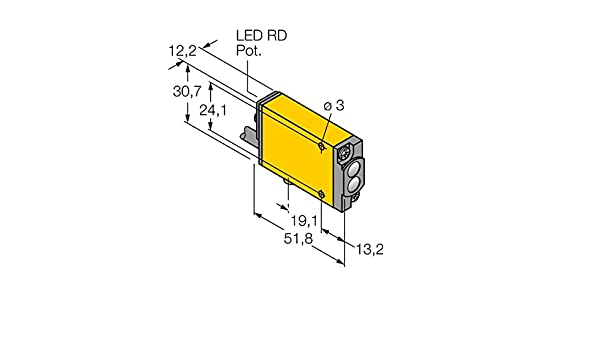 3037718 - miad9 W, Opto sensor Reflexion Lic httaster fm12atex0094 X: Amazon.es: Industria, empresas y ciencia
