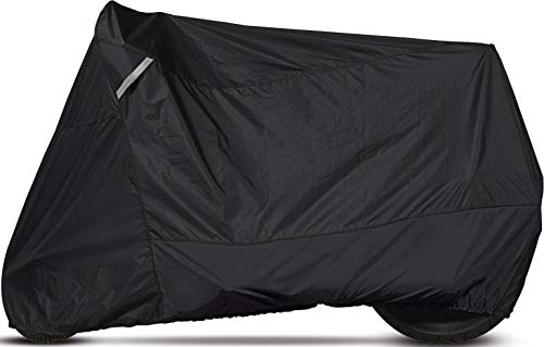 Dowco Guardian 51223-00 WeatherAll Plus Indoor/Outdoor Waterproof Motorcycle Cover: Black, Cruiser ()
