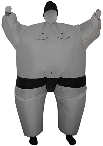 Green Man Factory Child Inflatable Sumo Body Suit - Medium (Inflatable Body Costume)