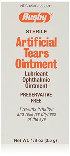 Rugby Sterile Artificial Tears Ointment 3.5gm 12pk by Wat...