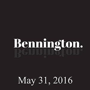 Bennington, Doug Stanhope, Maya Rudolph, Martin Short, May 31, 2016 Radio/TV Program
