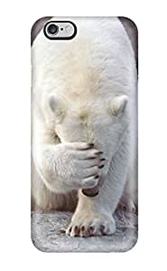 Fashion Tpu Case For Iphone 6 Plus- Bear Pictures Defender Case Cover wangjiang maoyi