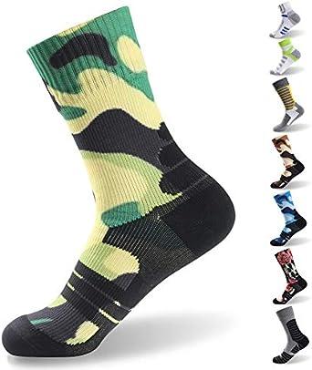 RANDY SUN Outdoor Sports Mens /& Womens Running Climbing Cycling Mid-Calf Socks Waterproof socks