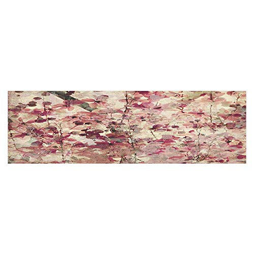 UHOO2018 Aquarium Sticker mGrungy Effect Cherry Blossoms Ribd
