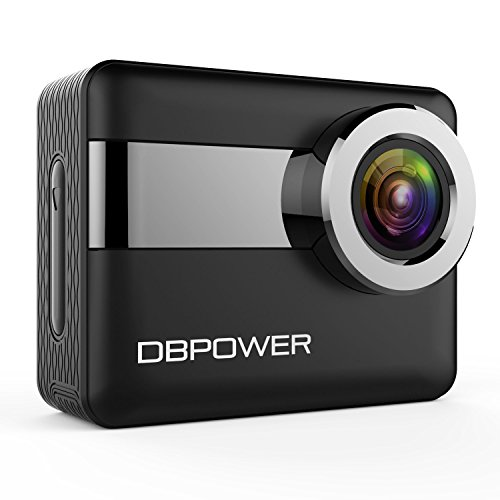DBPOWER N6 4K WiFi Action Camera 2.31 Inch LCD (Large Image)