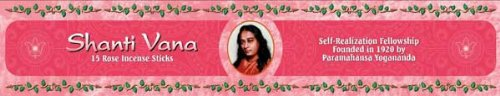 Shanti Vana Rose Incense Sticks ()