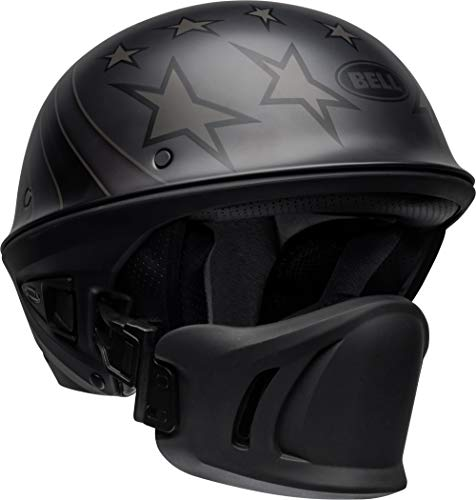 Bell Rogue Half-Size Motorcycle Helmet (Honor Matte Titanium/Black, X-Large)