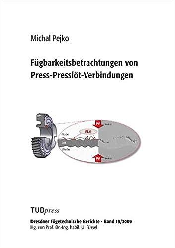 Fügbarkeitsbetrachtungen Von Press Presslöt Verbindungen