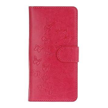Universal Carcasa Billetera,KATUMO® Funda de Piel Flip Case Cover para Bluboo Maya/Xfire 2/Picasso,Funda Oukitel U7 Plus/K6000 Pro,Fundas Homtom HT7 ...