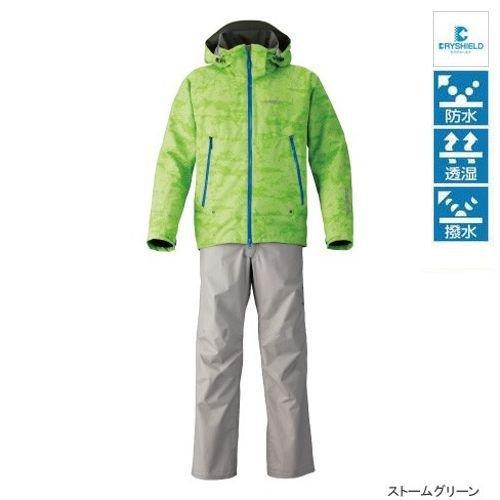 シマノ DSアドバンススーツ RA-025M ストームグリーンの商品画像