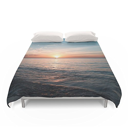 Society6 Hawaii Sunset Duvet Covers King: 104'' x 88'' by Society6