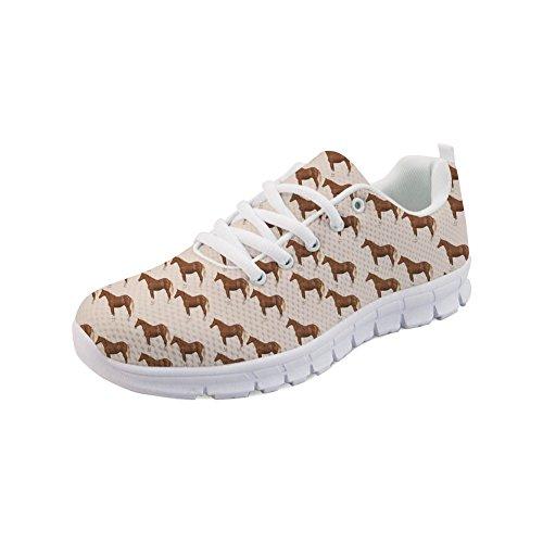 Showudesigns Breathable Running Sport Shoes Women Girls Walking Sneaker Animal Color 3 vUL9uM