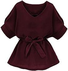 e6064e69f1b293 ZERDOCEAN Women's Plus Size Printed 3/4 Sleeve Tunic Top Loose Shirt ...