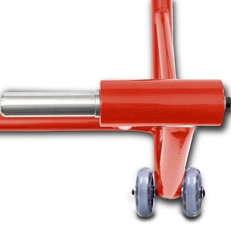 Constands Einarm Montageständer Ducati Diavel S 11 20 Rot Hinterrad Single Classic Motorrad Inkl Adapter Auto