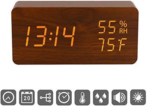 Digital Adjustable Brightness Temperature Humidity product image
