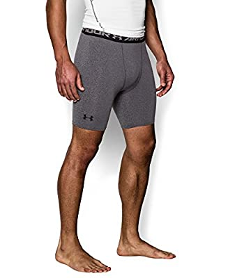 Under Armour Men's HeatGear Armour Compression Shorts - Mid by Under Armour Apparel
