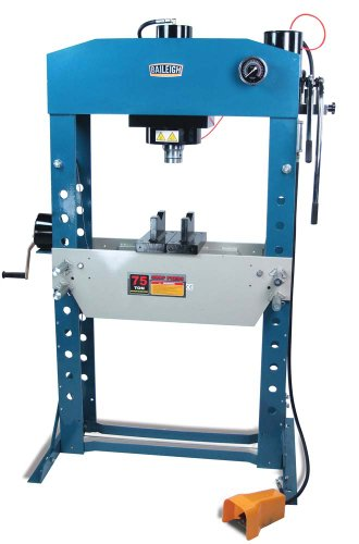 Baileigh HSP-75A Pneumatic Shop Press, 75 Ton Capacity, 31-1/2'' Working Width by Baileigh