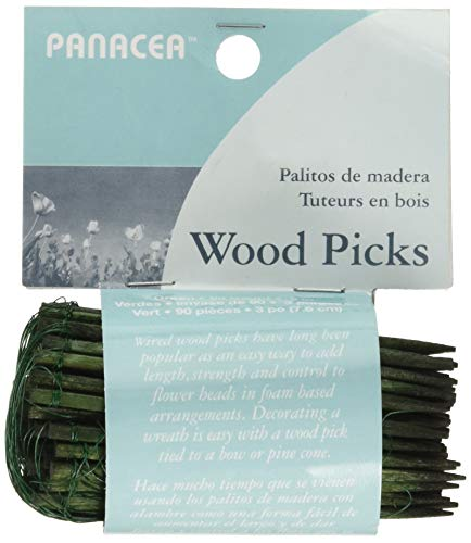 (Panacea Products 60043 Floral Picks 3 Inches 90 Pieces)
