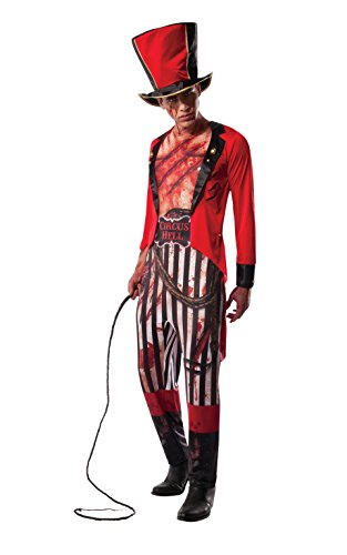 Circus Ringmaster Costume Male (Rubie's Costume Co Men's Mauled Ringmaster Costume, Multi, Standard)