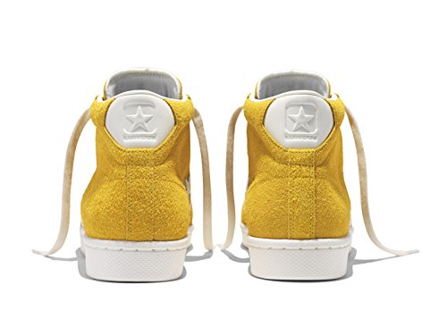 Converse CONS Pro Leather 76 MID Vintage Suede (Yellow) Talla 42.5