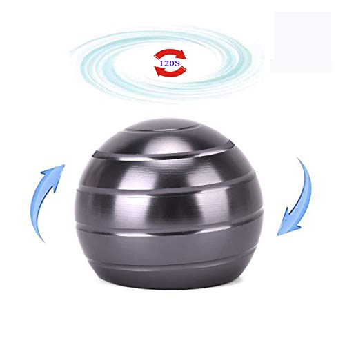 samisoler Kinetic Desk Stress Relief Toy for Adult Office Visual Illusion Metal Ball