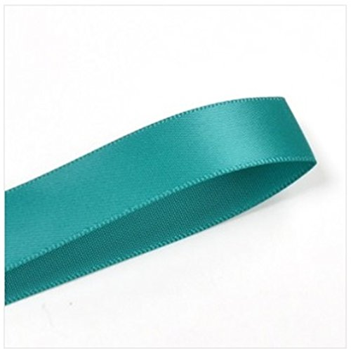 Double Face Satin Ribbon 7/8 Inch 100 Yard Roll Jade Jade Satin Ribbon