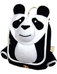 Ecogear Ecozoo Kids Panda Backpack, Black/White, One Size