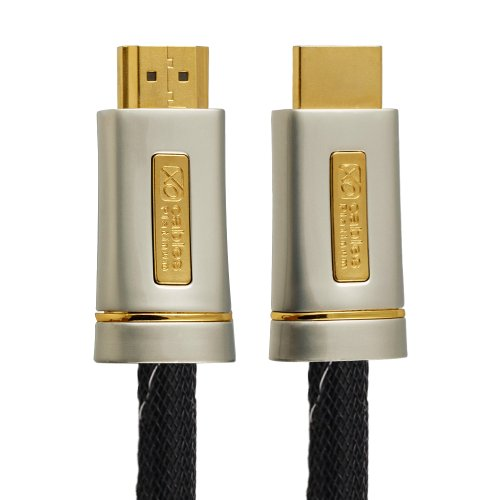 3M (3 Meter) XO PLATINUM HDMI TO HDMI Cable *New 1.4 Version High-Speed with ETHERNET and 3D 15.2GPS* FULL HD 1080p for XBOX 360, PS3, SKYHD, VIRGIN BOX, DVD, BLU-RAY, NINTENDO Wii U, LCD, LED, PLASMA, Dolby TrueHD, Samsung LG SONY PANASONIC HDTV