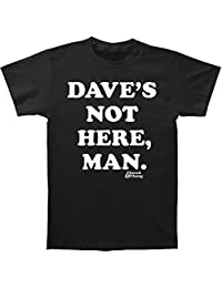 Impact Cheech & Chong Famous Comedy Duo Dave's Not Here Adult T-Shirt Tee Black