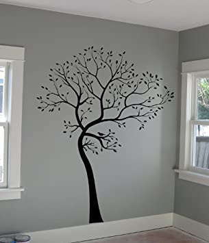 Large Big Tree Wall Decal + BIRDS Deco Art Sticker Mural   ORIGINAL Part 43
