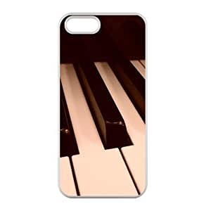 Welcome!Iphone 5/5S Cases-Brand New Design Music Piano Printed High Quality TPU For Iphone 5/5S 4 Inch -07