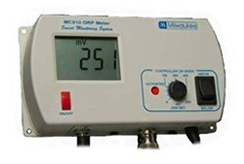 Milwaukee Instruments MC125US pH/Orp Controller with Hi/Low Range Alarm, 2 Point Manual Calibration, 0.0 To 14.0 pH Range