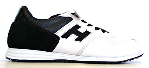 Hogan - Zapatillas de Piel para hombre blanco Bianco + Nero
