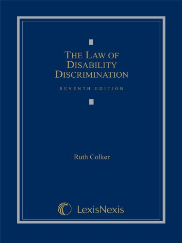 The Law of Disability Discrimination (Loose-leaf version) pdf epub