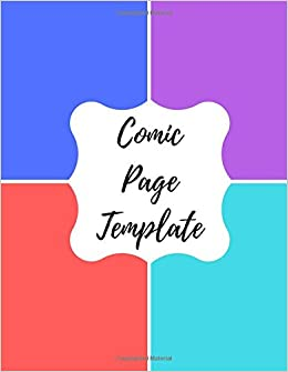 Comic page template blank empty cartoon strips 85 x 11 in 100 comic page template blank empty cartoon strips 85 x 11 in 100 pages multi panels comic book paper template journal notebook format maxwellsz