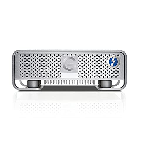 G-Technology G-DRIVE with Thunderbolt   10TB External Hard Drive with Thunderbolt USB 3.0 (Usb 10tb Hard Drive)