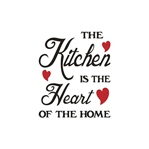 NewKelly Kitchen Wall Stickers Quote Kitchen Dinning Room Decor Vinyl Decals Art (Dining Ideas Centerpieces Table)