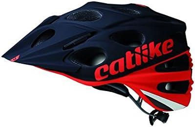 Catlike Leaf 2C Casco de Ciclismo, Unisex Adulto, Rojo Negro, M/54 ...
