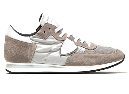 Philippe Model Paris Sneakers Uomo Col Grigio Modello Tropez Trlu 1103 New Collection 2018