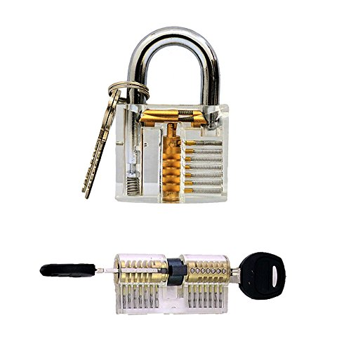 YuliTech Practice Transparent Cutaway Locksmith product image