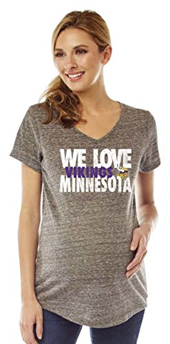 Minnesota Vikings Maternity Vikings Maternity Shirt