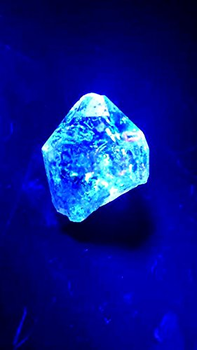 Large 49.9ct Petroleum Included Quartz. Fluorescent Diamond Quartz Crystals With Petroleum Enhydros From Pakistan Wire Wrapping