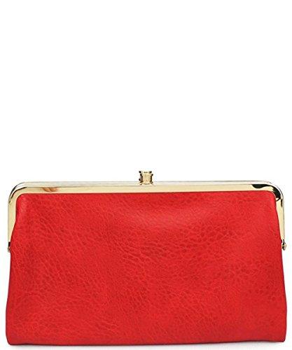 Urban Clutch Expressions Vegan Wallet Sandra Leather Scarlet r4rAqw