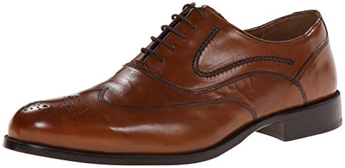Johnston & Murphy Stratton Wingtip Hombre Piel Zapato