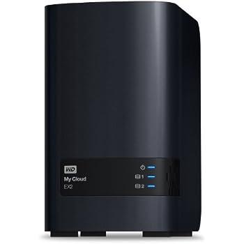 WD 8TB  My Cloud EX2  Network Attached Storage - NAS - WDBVKW0080JCH-NESN