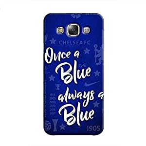 Cover It Up - Chelsea- Once a Blue Galaxy E5 Hard Case