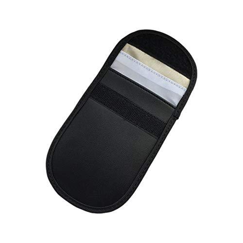 Panamami Car Key Signal Blocker Case Faraday Cage Fob Guard Pouch Keyless RFID Blocking Bag Car Key Protector Antitheft Lock Devices