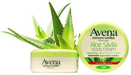 Avena Aloe Savila Body Cream.. Moisturizing, Regenerates, No